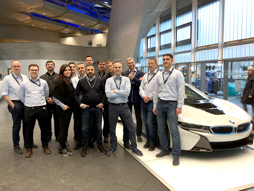 Plant managers visited the plants of VW Wolfsburg and BMW Leipzig